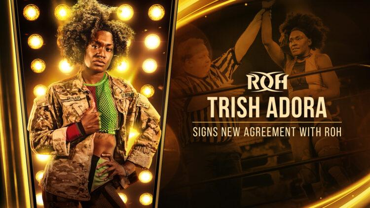 Trish Adora assina com a ROH