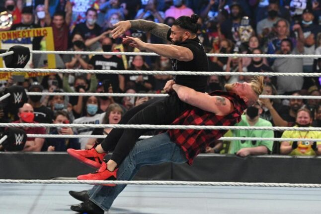 """""""Roman Reigns vs. Brock Lesnar"""" deverá ser uma rivalidade longa"""