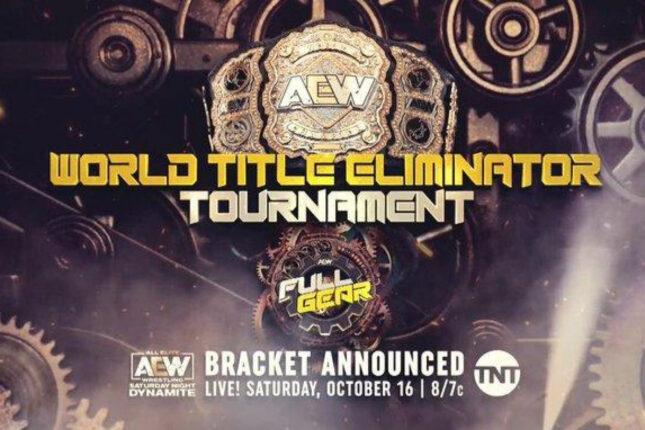 AEW revela os participantes do próximo World Title Eliminator Tournament