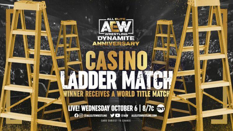 AEW anuncia os participantes da Casino Ladder Match