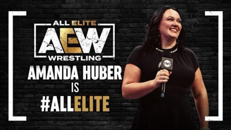 Amanda Huber assina com a AEW