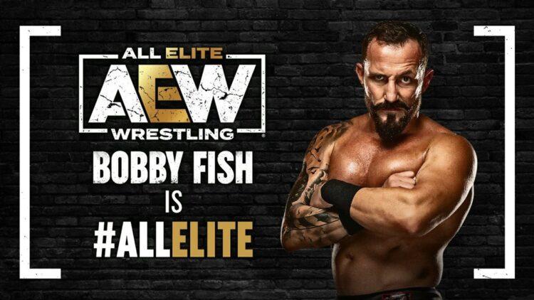 Bobby Fish assina com a AEW
