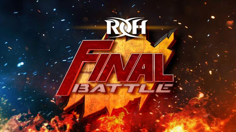 ROH anuncia data do Final Battle 2021