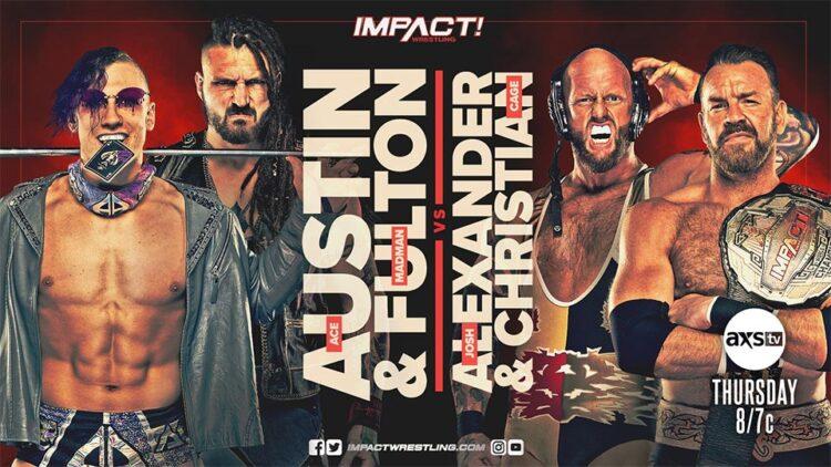 Cobertura: IMPACT Wrestling (07/10/2021) – Inimigos unidos!