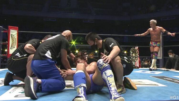Kota Ibushi se lesionou na final do NJPW G1 Climax 31