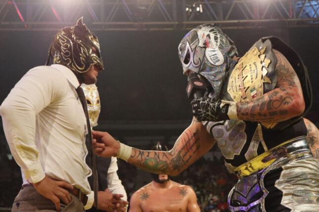 La Faccion Ingobernable confrontou os Lucha Bros durante o AAA Heroes Inmortales