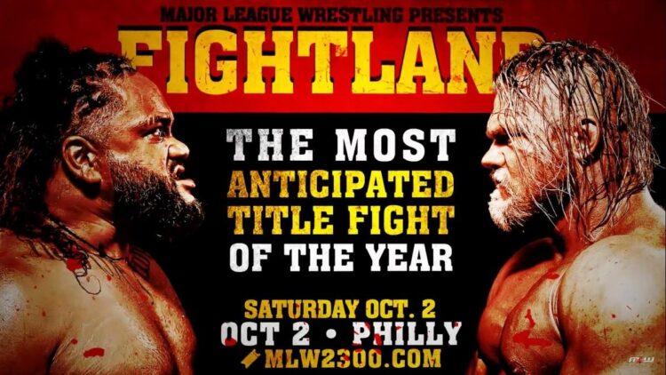 Cobertura: MLW Fightland 2021 – Confronto titânico!