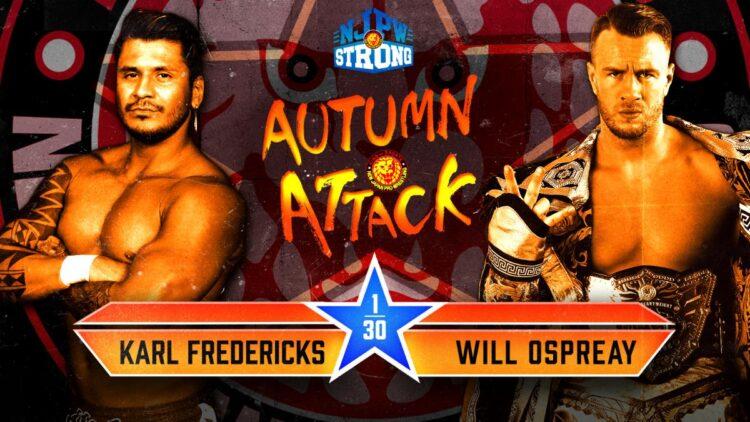 Cobertura: NJPW STRONG Autumn Attack (16/10/2021) – Intocável!