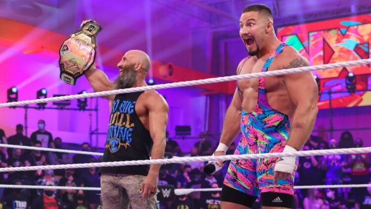 Tommaso Ciampa e Bron Breakker disputarão o NXT Title no Halloween Havoc