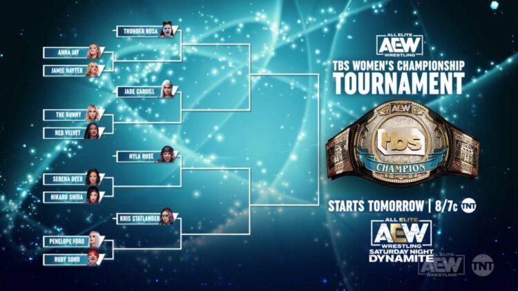 AEW revela as participantes do torneio pelo TBS Championship